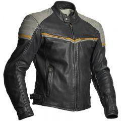 Halvarssons Leather jacket Eagle Black/grey