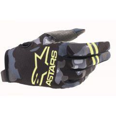 Alpinestars Radar Glove Camo/Yellow Fluo