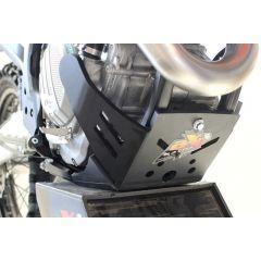 AXP Xtrem HDPE Skid Plate Black KTM/Husqvarna 19 AX1502