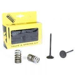 ProX Steel Exhaust Valve/Spring Kit RM-Z250 '07-16 28.SES3338-1