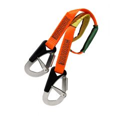 Baltic 2-hook safety line 1m