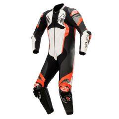 Alpinestars Leather suit 1-pcs Atem v4 White/Black/Red