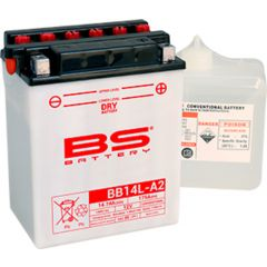 BS Battery  BB14L-A2 (cp) Conventional, Dry charged