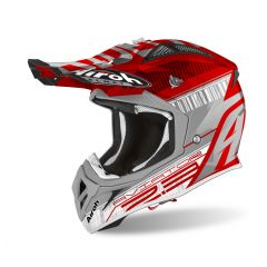 Airoh Helmet Aviator 2.3 AMS2 Novak red chrome
