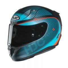 HJC Helmet RPHA 11 Bine Blue-Orange MC46HSF