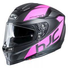 HJC Helmet RPHA 70 Pinot Pink/Black/Gray MC8SF
