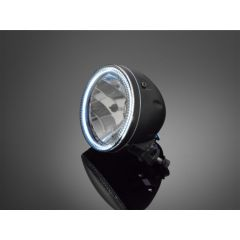 Highway Hawk Headlight with Led-Ring 68-0350