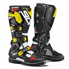 SIDI Crossfire 3 MX Boots white/black/fl yellow