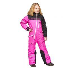 Sweep Snowcore Evo 2.0. Kids Monosuit pink/black/white