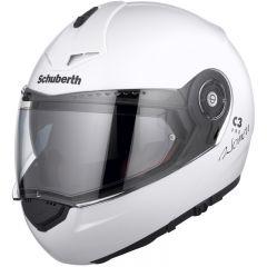Schuberth C3 Pro Lady helmet glossy white