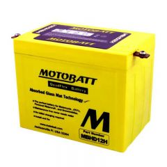 Motobatt battery, MBHD12H