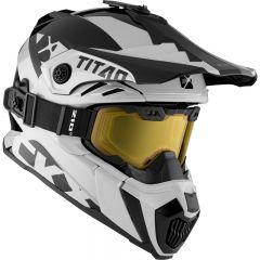 CKX Helmet + Goggles TITAN Airflow Extra Ivory