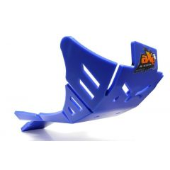 AXP Xtrem HDPE Skid plate Blue Sherco 450/500SEFR 19- AX1514