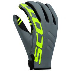 Scott Glove Neoprene grey/lime yellow