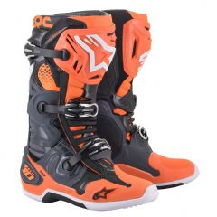 Alpinestars Boot Tech 10 Gray/Orange/White