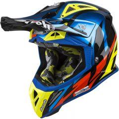 Airoh Helmet Aviator 2.3 AMS2 GREAT blue Chrome gloss