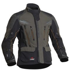 Halvarssons Textile Jacket Mora Black/green