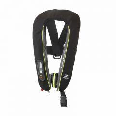 Baltic Winner 165 harness auto inflatable lifejacket black/grey 40-150kg