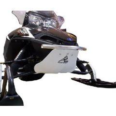 Skinz Float Plate Black 2009-13 Polaris SP (All narrow front end with aluminum b PFP250-BK