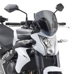 Givi Specific screen, smoked 32 x 30 cm (H x W) ER-6N 12- A4104