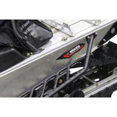 Skinz Airframe Running Boards Black 2013- Polaris Indy 600/800