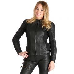Sweep Leatherjacket Bonita Lady, black