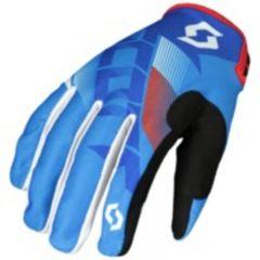 Scott Glove 350 Dirt blue/white