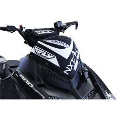Skinz Next Level Windshield Pak Black/White 2011-15 Polaris Pro RMK/Switchback/R