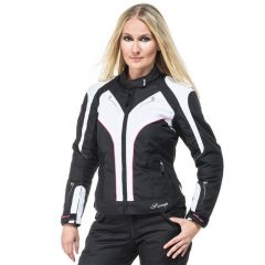 Sweep Textilejacket Lioness WP Lady, black/white/pink