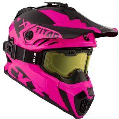 CKX Helmet + Goggles TITAN Airflow Matt black