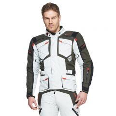 Sweep Textilejacket GT Adventure WP, light grey