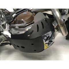 AXP Skid Plate Black Husqvarna FE250-FE350 17-19 AX1404