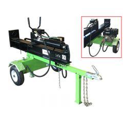 Bronco Wood splitting machine 22t with electic start AC-12391