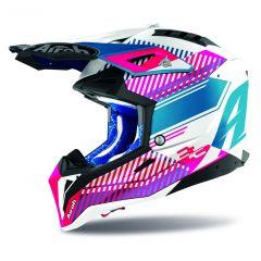 Airoh Helmet Aviator 3 Wave pink gloss