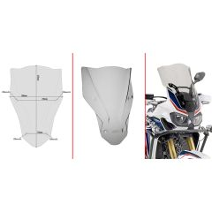 Givi Specific screen, smoked 47,5 x 35 cm (H x W) CRF1000L Africa Twin (16) D1144S