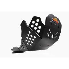 AXP Xtrem HDPE Skid Plate Black Honda CRF450R 19 AX1512
