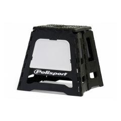 Polisport Motostand bike stand black/white