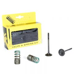 ProX Steel Exhaust Valve/Spring Kit YZ/WR250F '01-13 28.SES2402-1
