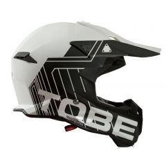 Tobe Terminator Helmet, Stripe White/Black