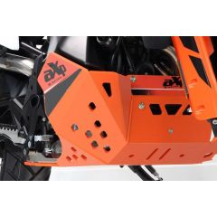 AXP Skid plate Orange KTM790 Adventure/R