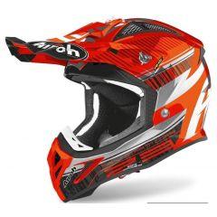 Airoh Helmet Aviator 2.3 AMS2 Novak orange chrome