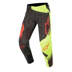 Alpinestars Techstar Factory Pants Black Yellow Fluo Red Fluo