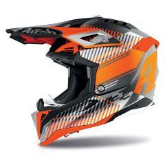 Airoh Helmet Aviator 3 Wave orange matt