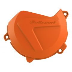 Polisport clutch cover prot. SX-F450 16-17/EXC-F450 17 orange