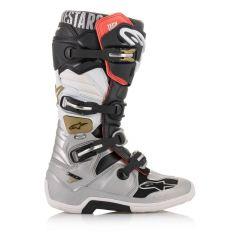 Alpinestars Boot Tech 7 Blk/Silver/Wht/Gold