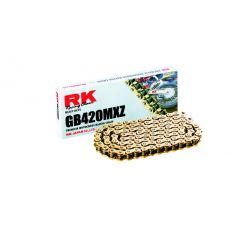RK GB420MXZ Offroad Chain Gold +CL (Connect.link) GB420MXZ-146+CL