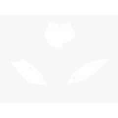 Blackbird Pre Cut Backgrounds white SX85 13-15