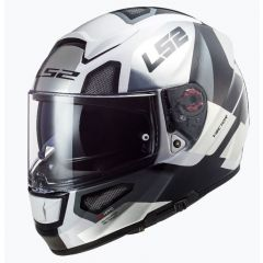 LS2 Helmet FF397 Vector Evo Automat White/Titan