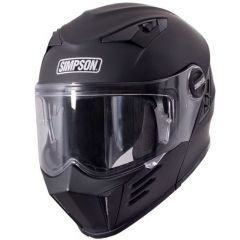 SIMPSON Helmet Darksome Matt Black