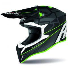 Airoh Helmet Wraap Mood green matt